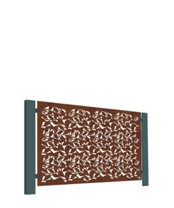 Stark & Greensmith - Branches Corten Half Height Panel