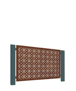 Stark & Greensmith - RHS Parterre Corten Half Height Panel